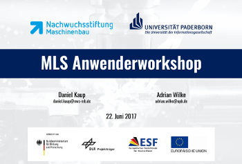 MLS Anwenderworkshop 2017